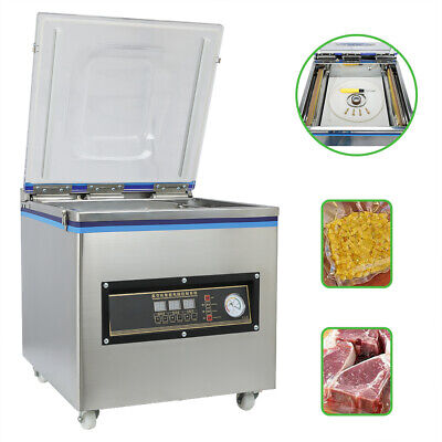 Vacuum Packing Sealing Machine Sealer 110v Packaging Industrial Chamber 20l