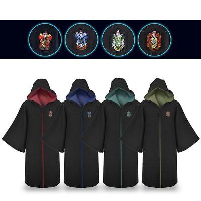 e Granger Robe Gryffindor Slytherin Schulumhang Kostüm Black (Harry Potter Robe Schule)