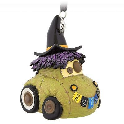 Scary Halloween Cars (NIB Disney Cars Land Scary Scarecar Halloween Witch Figure Holiday Ornament)