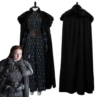 Game of Thrones 8 Sansa Stark Cosplay Kostüm - Sansa Stark Kostüme