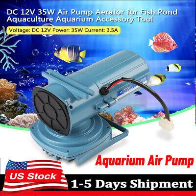 DC 12V 35W Air Pump Aerator for Fish Pond Aquaculture Aquari