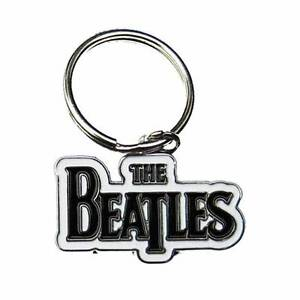 The-Beatles-Keyring-Chain-Fob-Various-Logos-100-Official-Merchandise