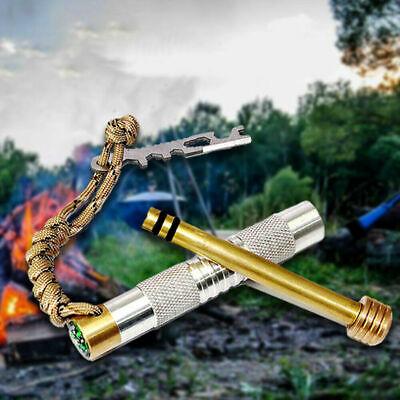 Kapok Fiber Fire Starting Tinder Fire Piston Bow Drill Flint /& Steel tying fly