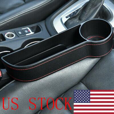 Auto Car Seat Gap Catcher Filler Storage Box Bottle Pocket Organizer Holder Tidy