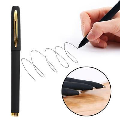2pcs Scrub Gel Ink Ballpoint Pen 0.5mm Black Refill Office School Supplies
