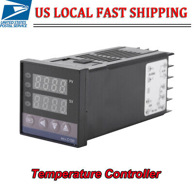 01300 110v-240vac Alarm Rex-c100 Digital Led Pid Temperature Controller Kits