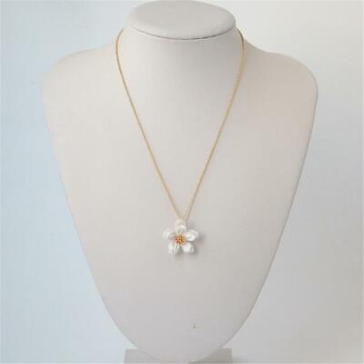 Kate Spade New York White Gold Flower Pendant Necklace