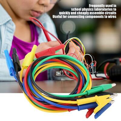 5  Clip Banana Plug Wire Testing Test Probe Lead Wire Cable