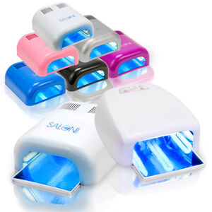 Salon-Edge-Gel-Curing-Nail-Polish-UV-Lamp-36W-Acrylic-Timer-Light-Manicure-Dryer