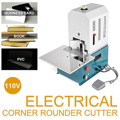 110v Electric Round Corner Cutter Corner Rounding Machine Business Card Paper