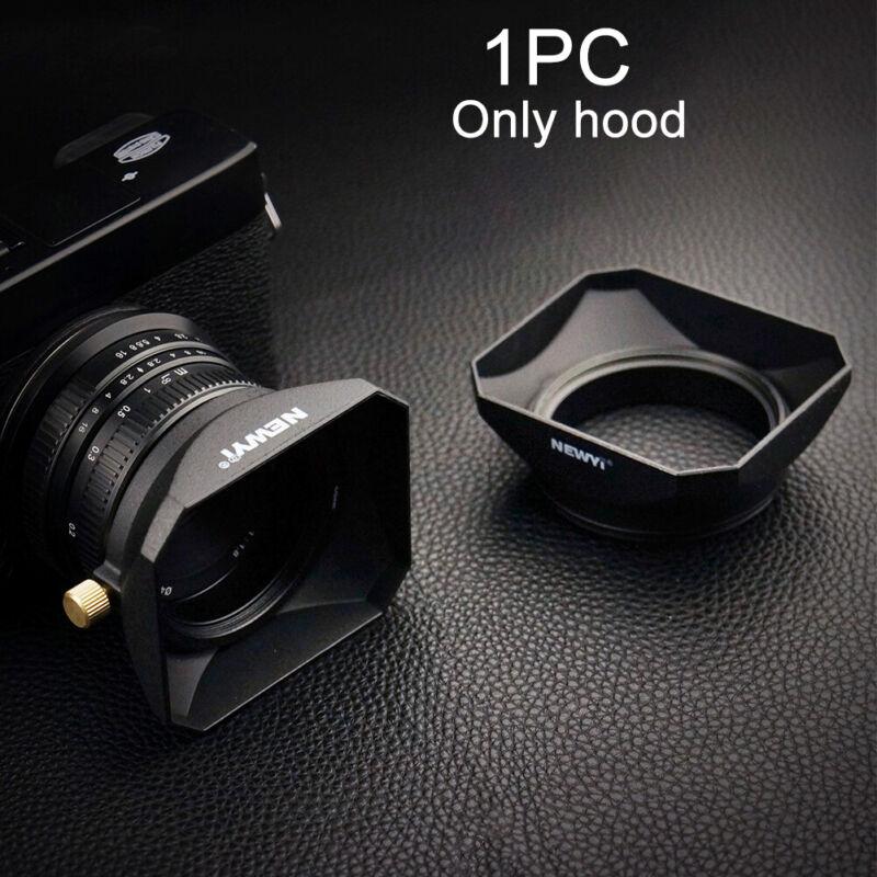 Camera Practical Square Shape Accessories Retro Protective Lens Hood