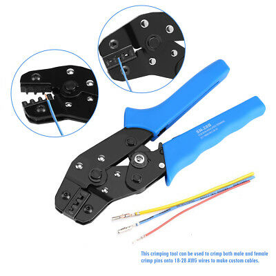 Sn-28b Crimping Tool Crimper Plier Terminal Wire Connectors For Jst-sm Dupont