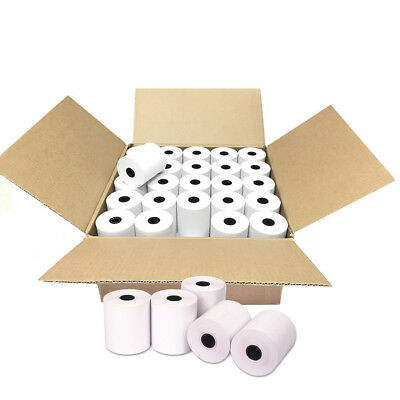 100 Roll 2-14 X 50 Thermal Receipt Paper Pos Cash Register Credit Card Paper
