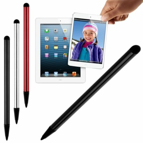 Dual Use Capacitive Pen Touch Screen Stylus for Tablet iPad Phone Samsung