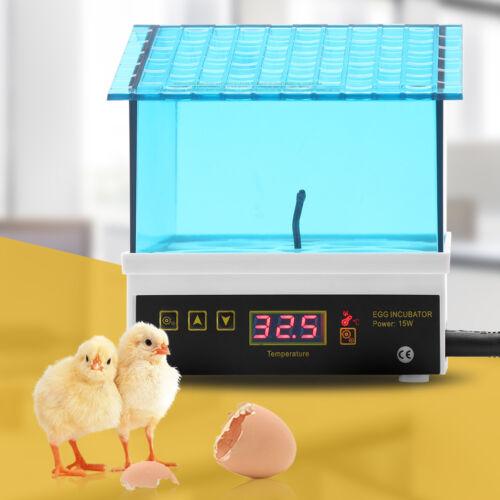 4 Eier Automatische Inkubator Brutmaschine Brutapparat Brutkasten Brüter ZI 05