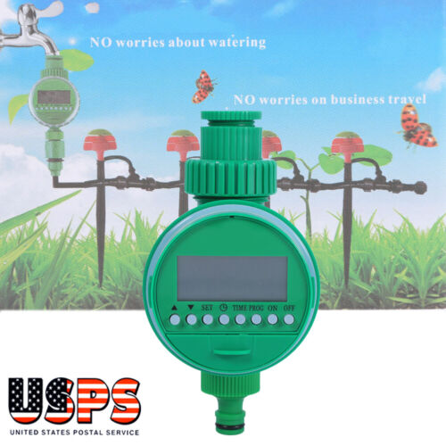 Automatic Digital LCD Electronic Home Water Timer Garden Irr