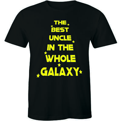 Best Uncle In The Galaxy Mens T-Shirt Tee Gift Xmas Fathers