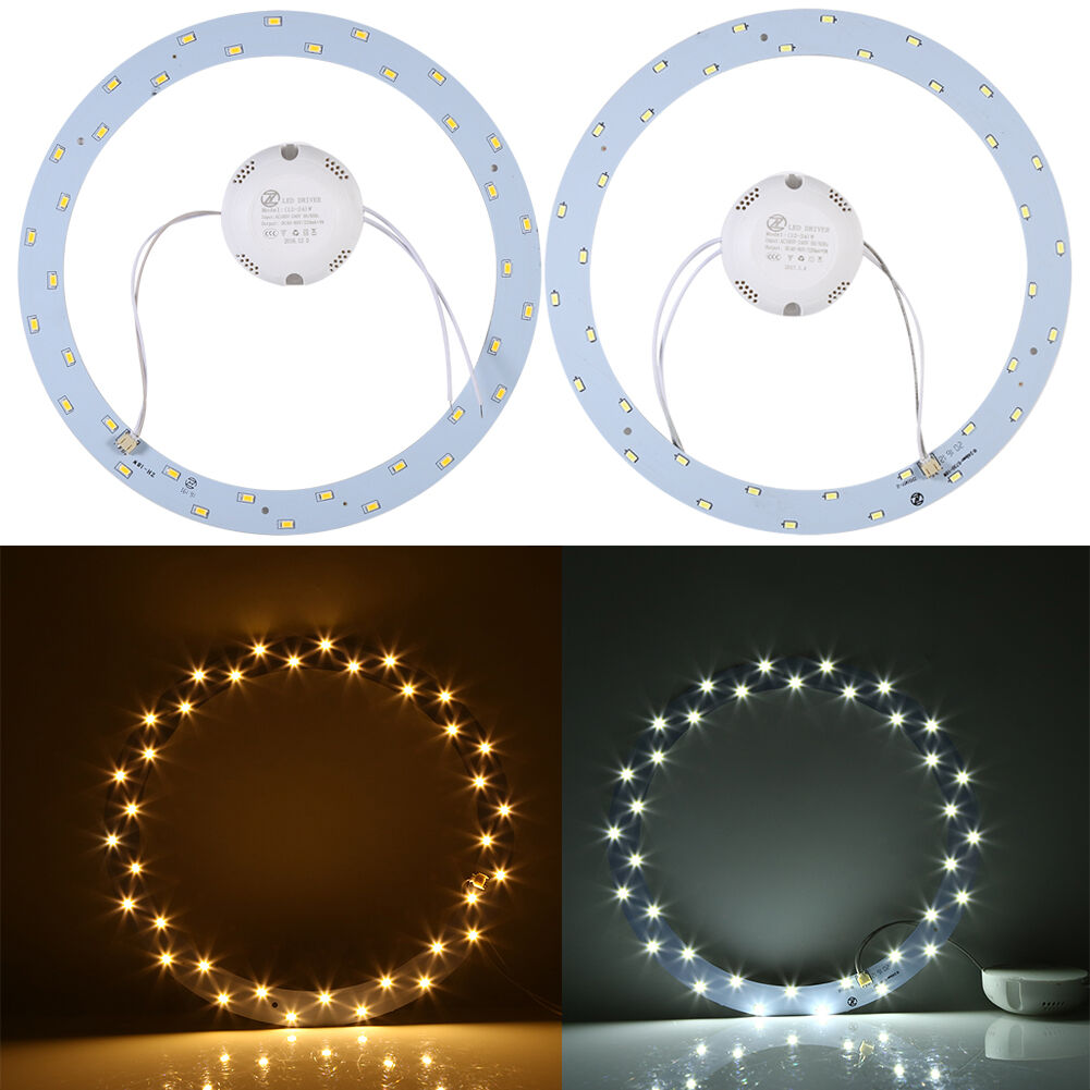Ring Panel Circle Light Ac Smd 5730 Led Round Ceiling