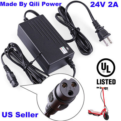 24v 2a oem battery charger for razor scooter ground force go kart mini  chopper