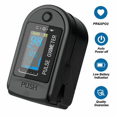 Fingertip Pulse Oximeter Oxygen Saturation Meter Spo2 Pr Blood Monitor Us Fast