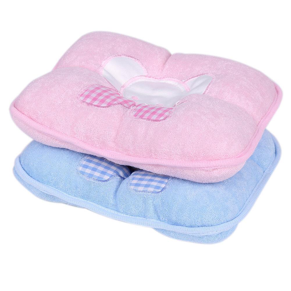 Elephant Infant Baby Anti Roll Sleep Pillow Newborn