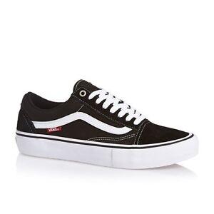 VZD4Y28-Zapatillas-Vans-Old-Skool-Pro-negro-blanco-2017-Hombre-Piel-Nuevo