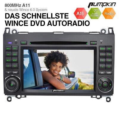 Pumpkin Autoradio GPS Navi DVD Für Mercedes Benz A/B Klasse Sprinter Viano Vito