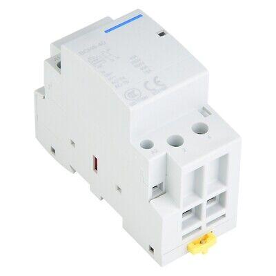 40A Low Power Consumption Household DIN Rail AC Contactor 2NO 50/60HZ 220V/230V