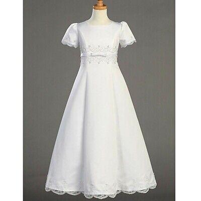 Comunion Dresses (Girl Dresses Lace Vestidos de Primera comunion Floor)