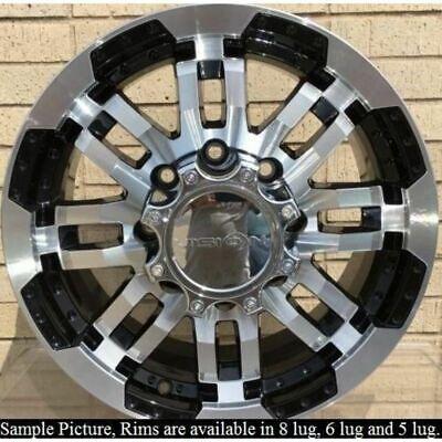 "4 Wheels for 16"" Inch Dodge Ram 2500 3500 Truck Hummer H2 Rims -102"
