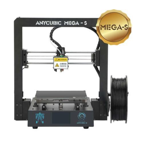 DE ANYCUBIC i3 MegaS 3D Drucker Größerer Druckgröße 3,5 Zoll TFT Touchscreen