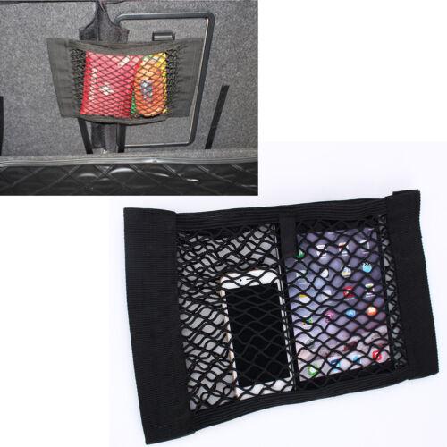 Car Universal Back Rear Trunk Seat Elastic String Net Mesh Storage Pocket Bag