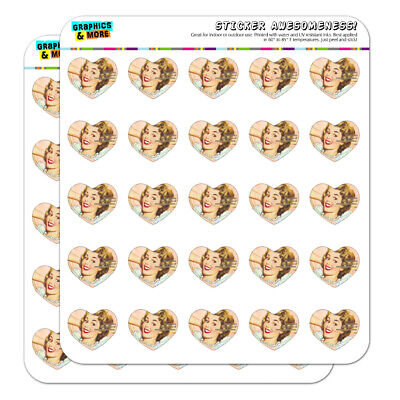 Not Lazy Master of Energy Conservation Heart Planner Scrapbook Craft Stickers