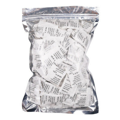 2g Gram Silica Gel Desiccant Packet Safe Moisture Absorbing Drying Bag 160 Packs