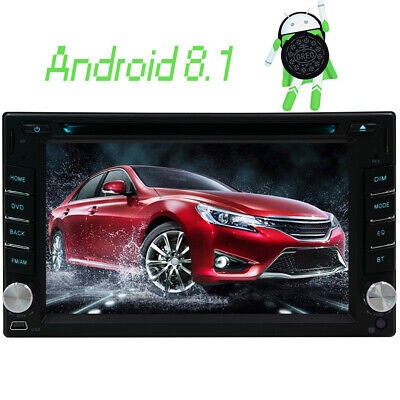"6.2"" Android 8.1 Car Radio GPS Navigation 2 Din CD Player Stereo Wifi Bluetooth"