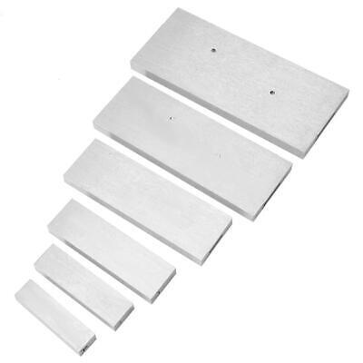 6 Pcs Steel Adjustable Parallel Block Set 382-14in For Accurate Measurement