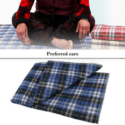 Washable Reusable Incontinence Bed Pad Waterproof Pee Underpad Sheets Protect Incontinence Bed Sheets