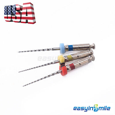 1pk Easyinsmile 16mm Dental Endo Rotary Niti Files For Kids Root Canal Treatment