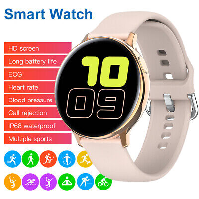 ECG Smartwatch Heart Rate Monitor Bluetooth Camera Music Control for iOS Android Cell Phones & Accessories