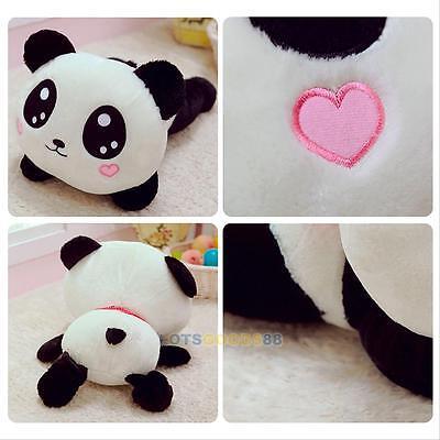 "8"" Cute Plush Doll Toy Stuffed Animal Panda Pillow Cushion Bolster Holiday Gift"