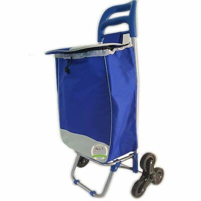 Rolling Bag Light Weight Shopping Utility Cart Dolly Trolley Assorted Colors