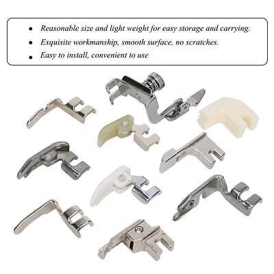 Presser Foot Set 10Pcs - Accesorios de kit de prensatelas de metal...