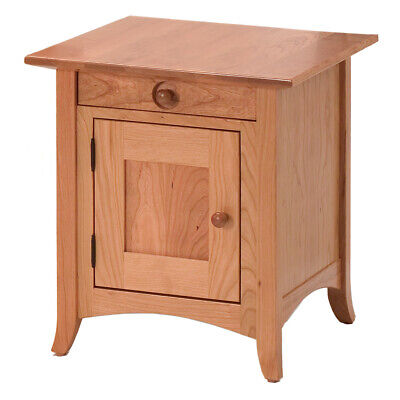 Amish Shaker Style Occasional End Table Home Furniture Solid Wood Cherry