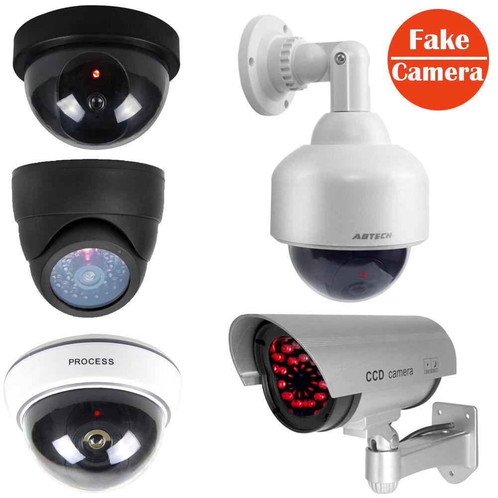 Fake Dummy Dome/Solar Surveillance for Home Security Camera