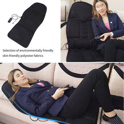 Heated Electric Car Back Neck Lumbar Full Body Massager Seat