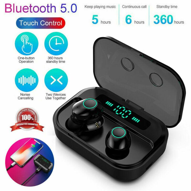 Bluetooth 5 0 Headset Tws Wireless Earphones Mini Earbuds Stereo Headphones Rj5 Ebay