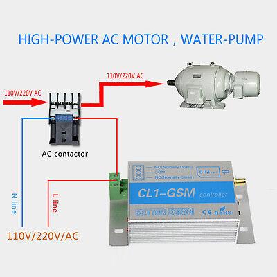Phone Call SMS SIM Remote Control GSM RELAY Quad Band Smart Switch Controller #E