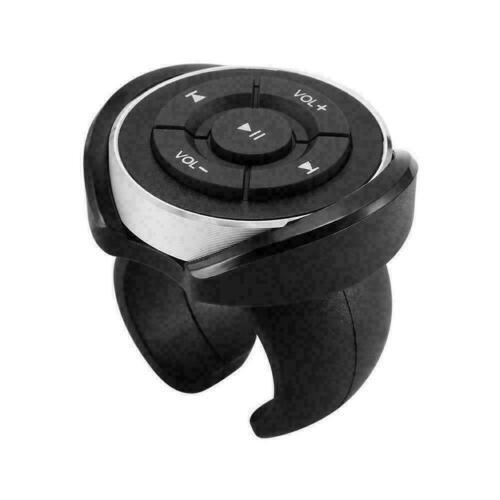 Bluetooth Audio Media Music Remote Control Button Car Steering Bike Wheel