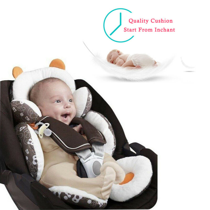 Baby Total Body Head Support Pillow Pram Newborn Car Seat Cover Cushion Padding