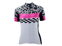 Women's Short Sleeve Cycling Jersey - XXL